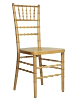 Natural Wood Ballroom Chair