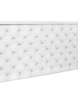 White Tufted Bar