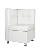 White Corner Sectional