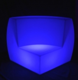 LED Curved Sofa