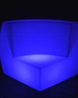 LED Curved Sofa