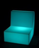 LED Rectangle Sofa