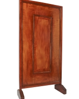 Mahogany Wood Partition