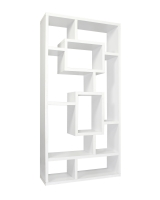 White Cubed Bookshelf