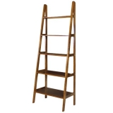 Rustic Ladder Bookshelf