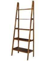 Rustic Ladder Bookshelf