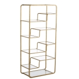 Gold Glass Shelf