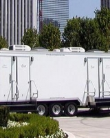 Trailer unit Restrooms