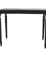 Antique Black Dining Table