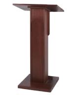 Mahogany Wood Podium