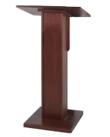 Mahogany Wood Podium